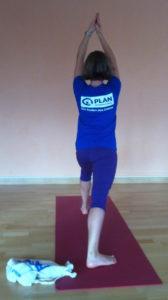 Yoga für Plan Foto Heike